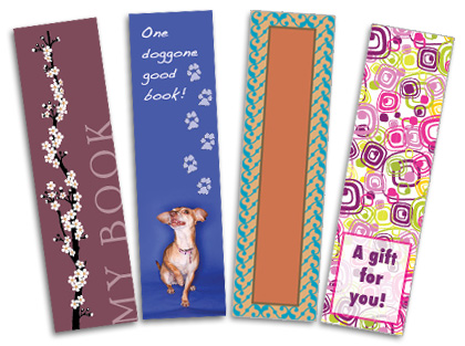 make your mark with our bookmark printing services